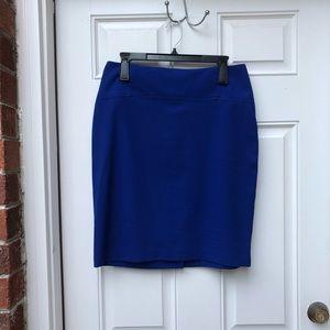 NY&Co Blue Pencil Skirt